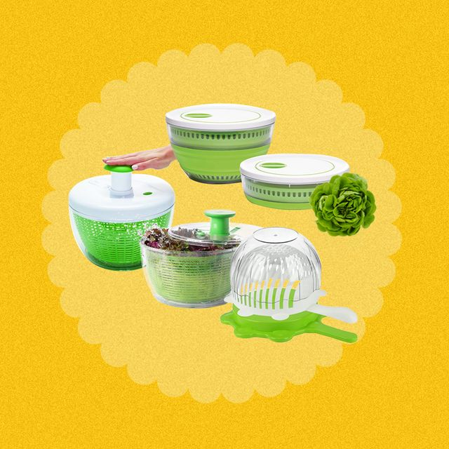 these salad spinners get your greens clean and dry in no time