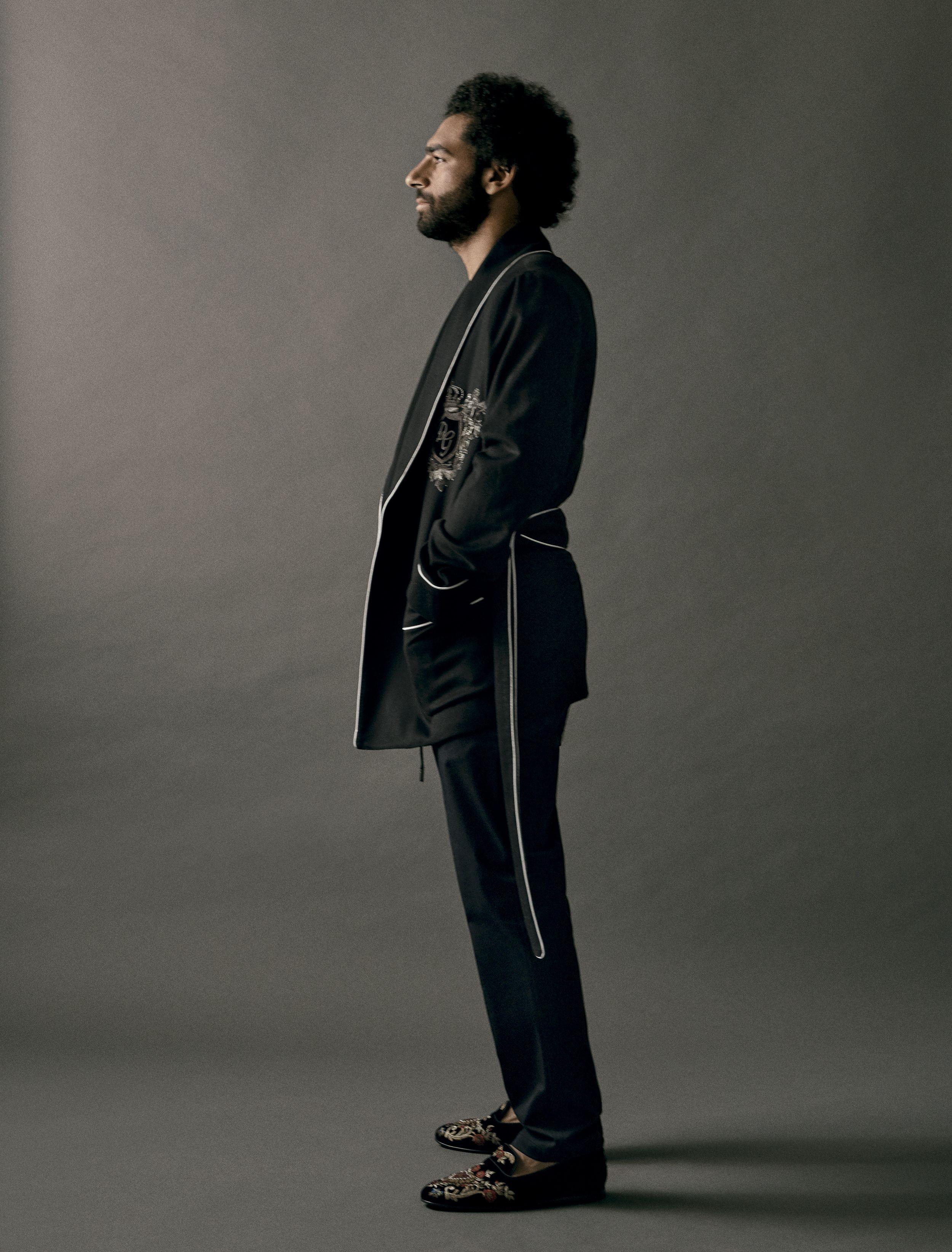 Mo Salah moda esquire