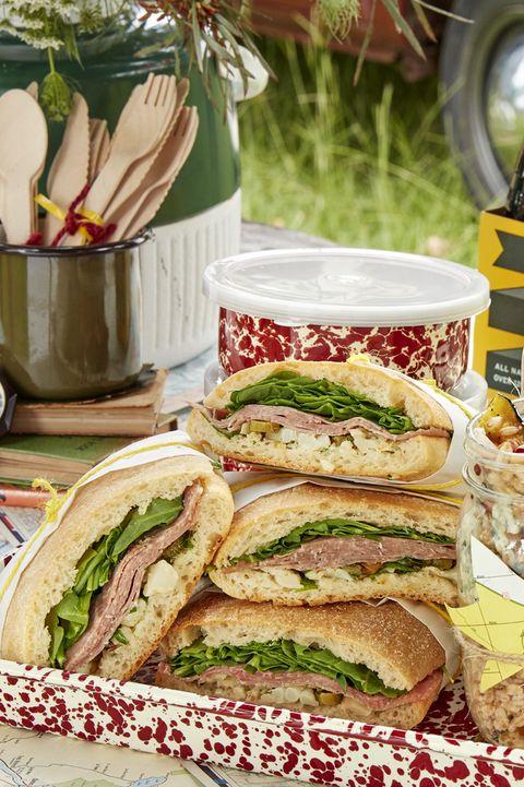 salami sandwiches with cauliflower relish recipe