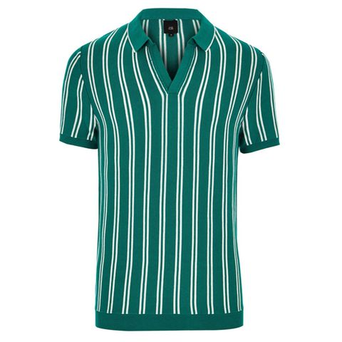 Clothing, Green, T-shirt, Active shirt, Sportswear, Sleeve, Turquoise, Aqua, Jersey, Collar,