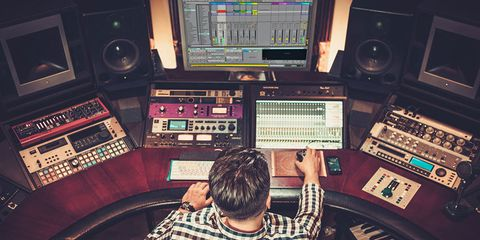 Mixing engineer, Recording studio, Audio engineer, Studio, Audio equipment, Electronics, Broadcasting, Recording, Mixing console, Technology,