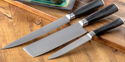 Knife, Kitchen knife, Blade, Cutlery, Tableware, Table knife, Cutting board, Dagger, Cutting tool, Hunting knife,