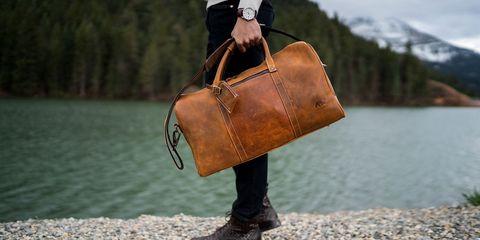 Bag, Handbag, Leather, Brown, Fashion accessory, Tan, Fashion, Footwear, Satchel, Luggage and bags,