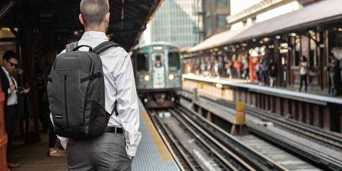 Transport, Public transport, Train station, Metro, Mode of transport, Vehicle, Rolling stock, Railway, Metro station, Train,