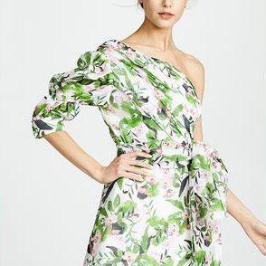 Clothing, Fashion model, Dress, Day dress, Shoulder, Pattern, Fashion, Fashion design, Sleeve, Pattern,