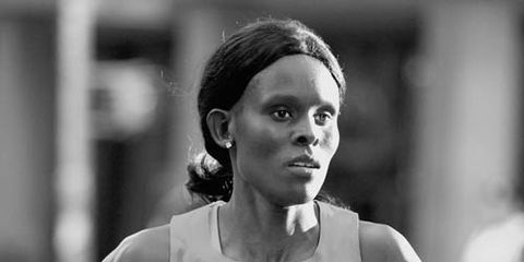 Sally Kipyego in 2013 Dash to the Finish Line