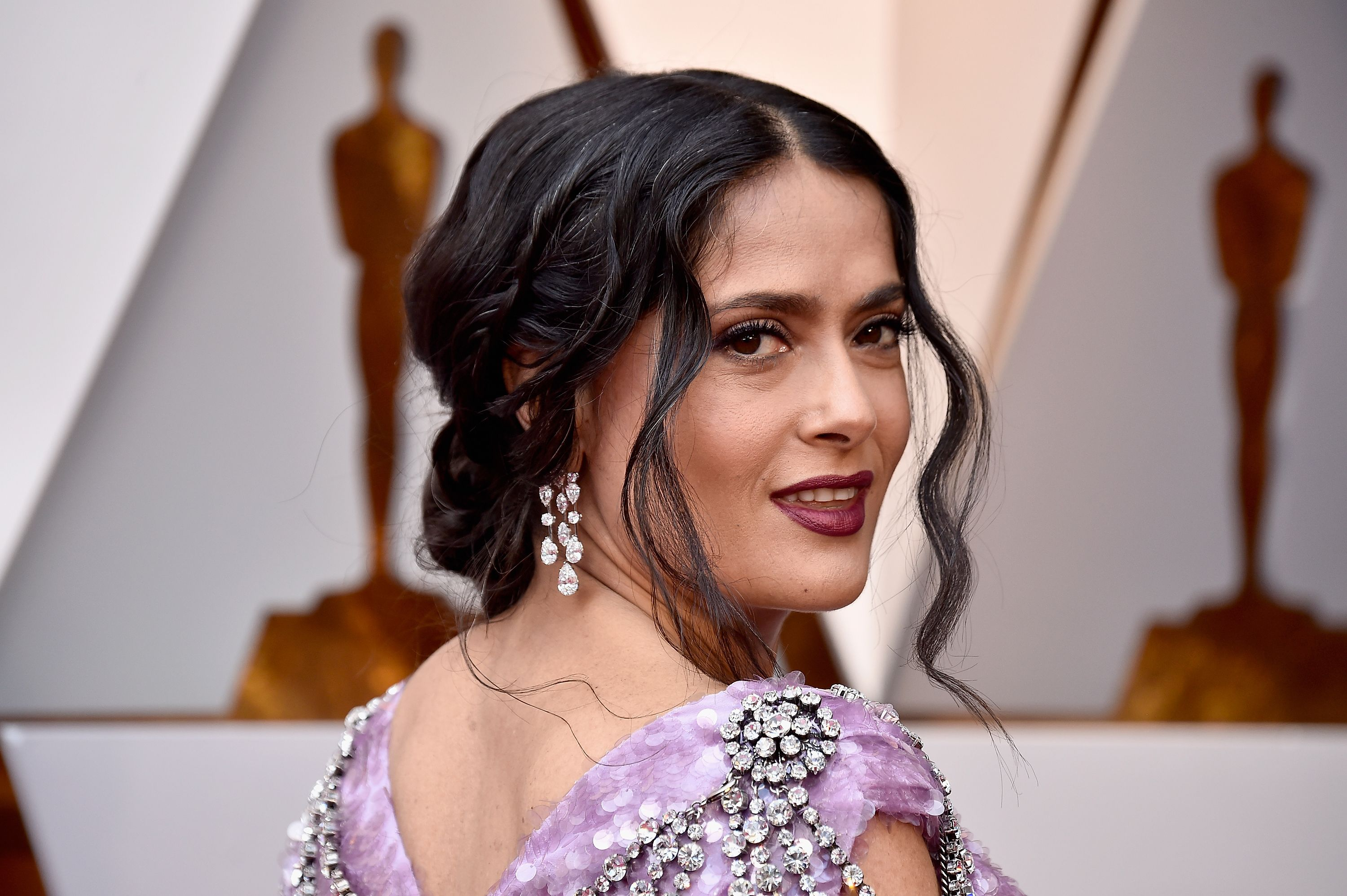 Salma Hayek Pinault Tells Andy Cohen She Turned Down the Role of Selena