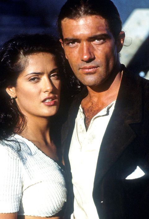 salma hayel and antonio banderas in desperado