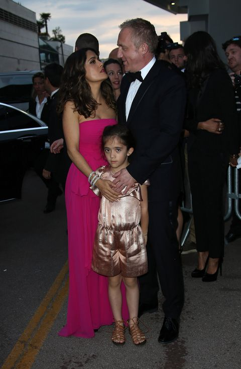Fun Facts About Salma Hayek's Billionaire Husband François