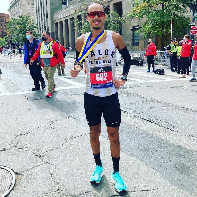 matt salminen finishes boston marathon