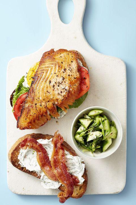 Salmon BLT - Healthy Lunch Ideas