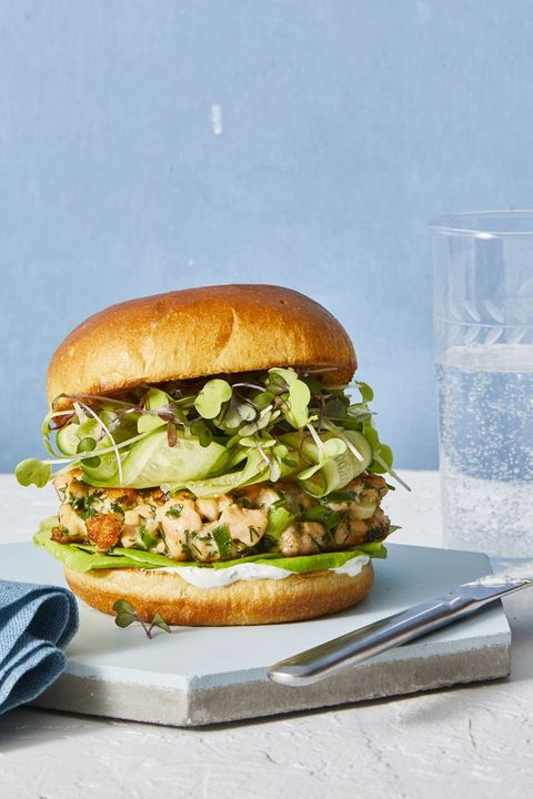 salmon burger   spring recipesspring foods