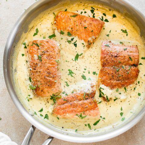 receta de salmón a la mostaza