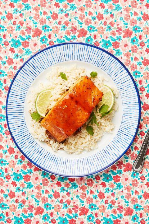 salmon recipes honey soy
