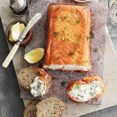 salmon and mackerel terrine