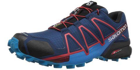Shoe, Footwear, Outdoor shoe, Running shoe, Hiking shoe, Athletic shoe, Electric blue, Walking shoe, Cross training shoe, Sneakers,