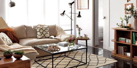 Living room, Furniture, Room, Interior design, Coffee table, Couch, Property, Table, Floor, Home,