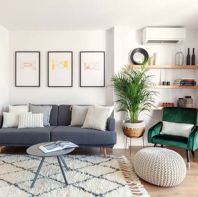 Living room, Furniture, Room, Interior design, Property, Coffee table, Table, Couch, Floor, Shelf,