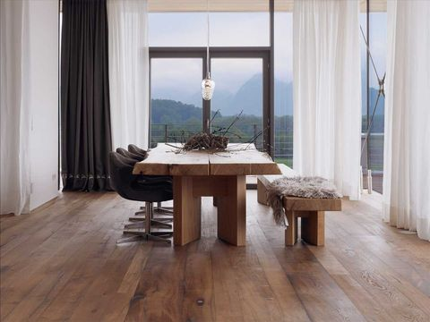 Floor, Furniture, Room, Wood flooring, Hardwood, Property, Table, Laminate flooring, Interior design, Flooring,