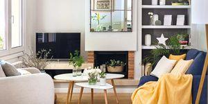 Un piso reformado con pequeños cambios