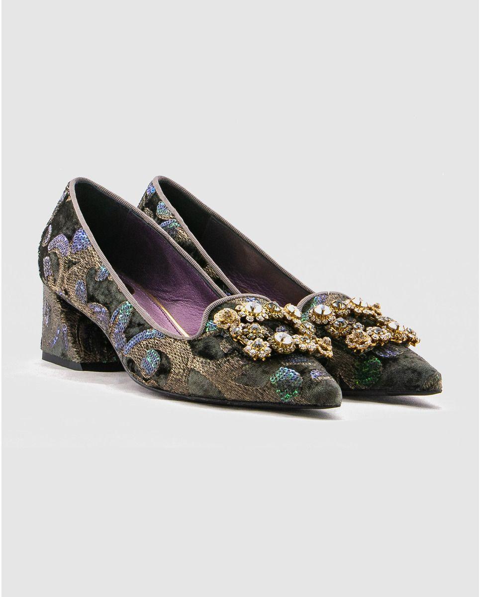 zapato salon barroco ras