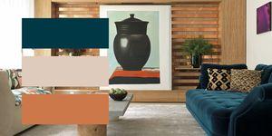Combinaciones de colores para decorar y combinar el color de las paredes con el mobiliario