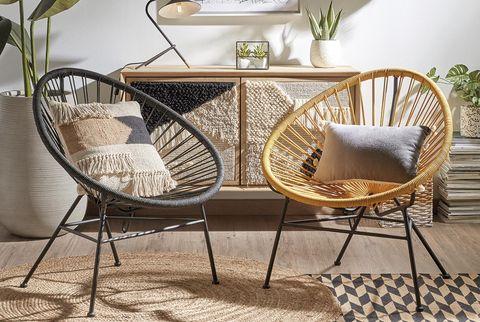 muebles a pares butacas estilo acapulco