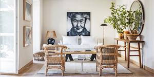 Ideas de decoración rústica para un piso
