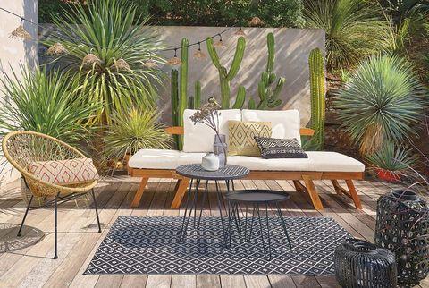 decorar jardines y terrazas muebles de exterior de maisons du monde