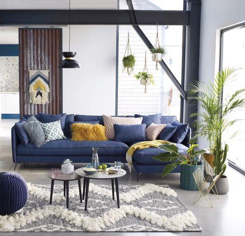 Ideas para refrescar el salón con la llegada del verano.