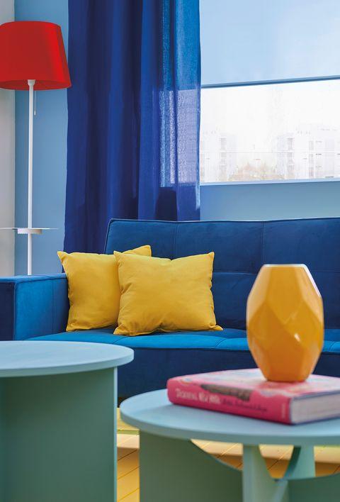 salon colorido