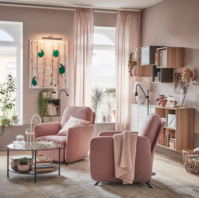 decoración de un salón pequeño