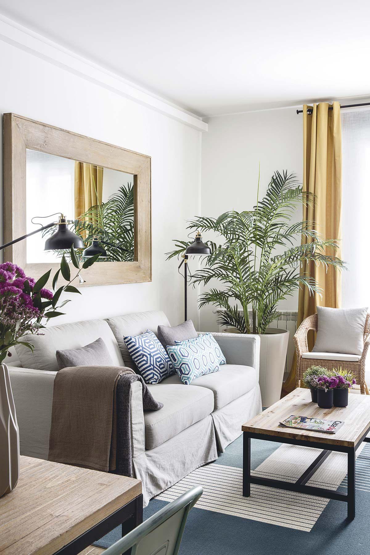Un piso de 50 m2 funcional y luminoso