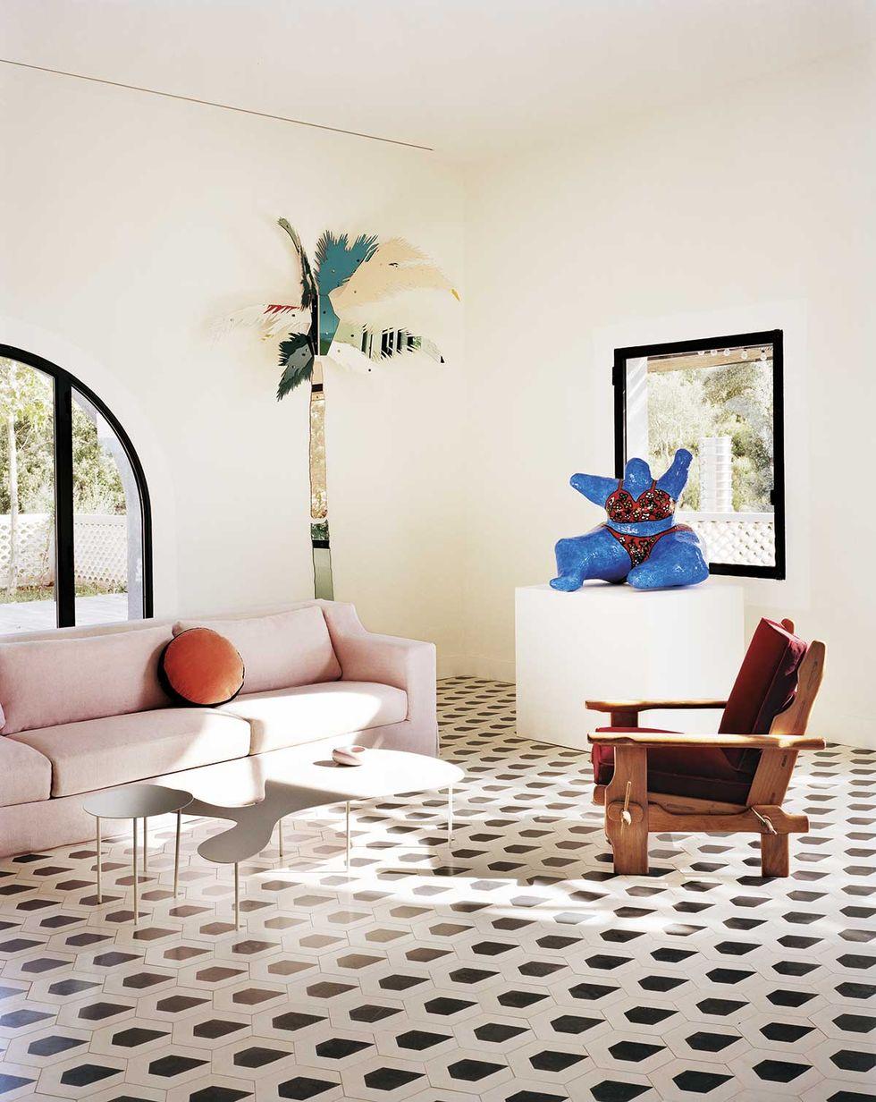 粉色沙发客厅