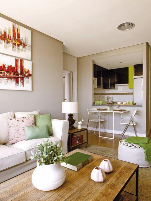 Ambientes de la casa reforma en una casa de 60 metros cuadrados Piso 60 metros decoracion