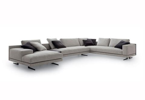 Brown, White, Couch, Furniture, Style, Living room, Outdoor furniture, Rectangle, Black, Grey,