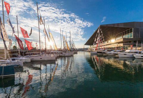 Marina, Harbor, Reflection, Sky, Boat, Dock, Vehicle, Port, Waterway, Infrastructure,