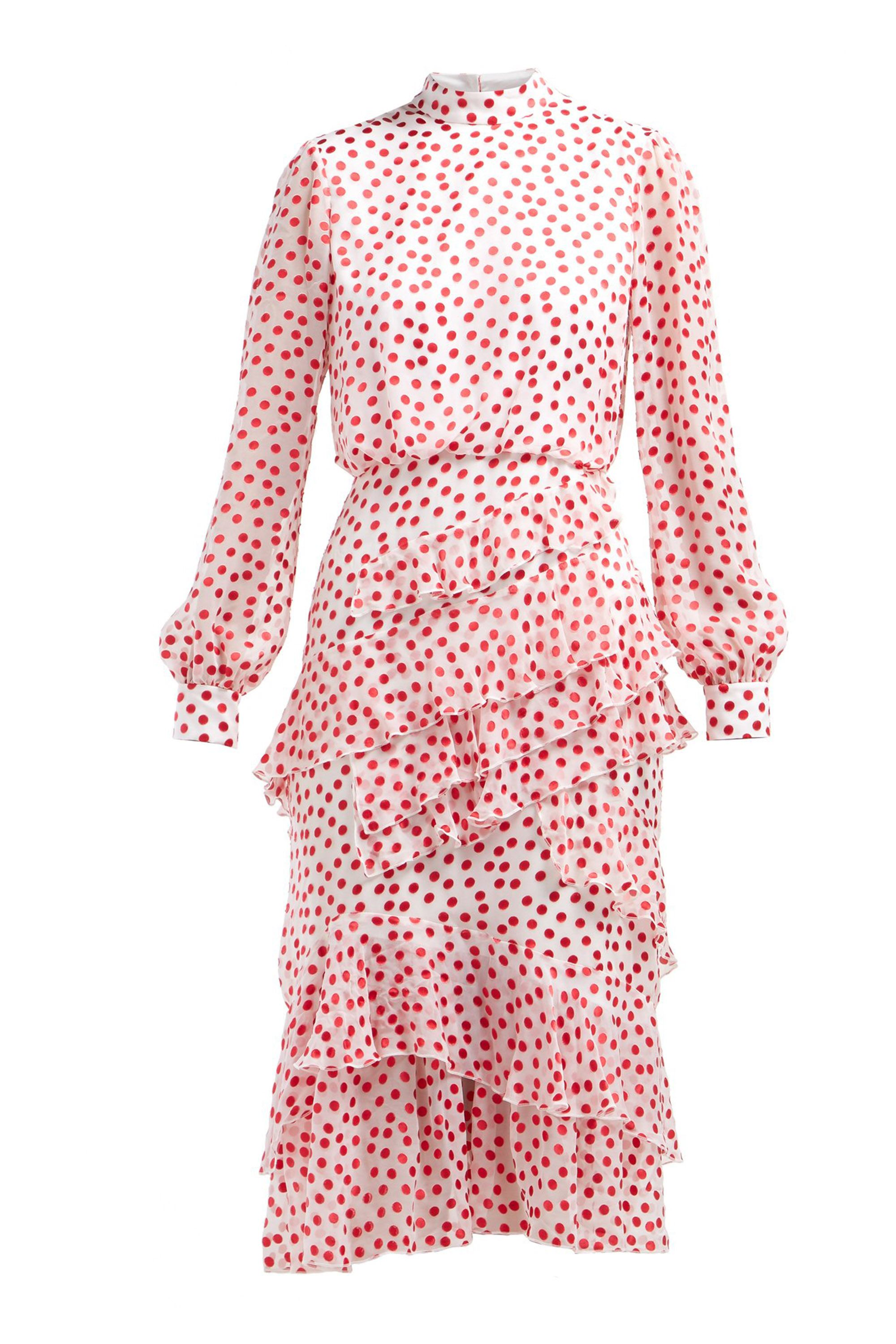 Bridesmaid trends, polkadot dresses