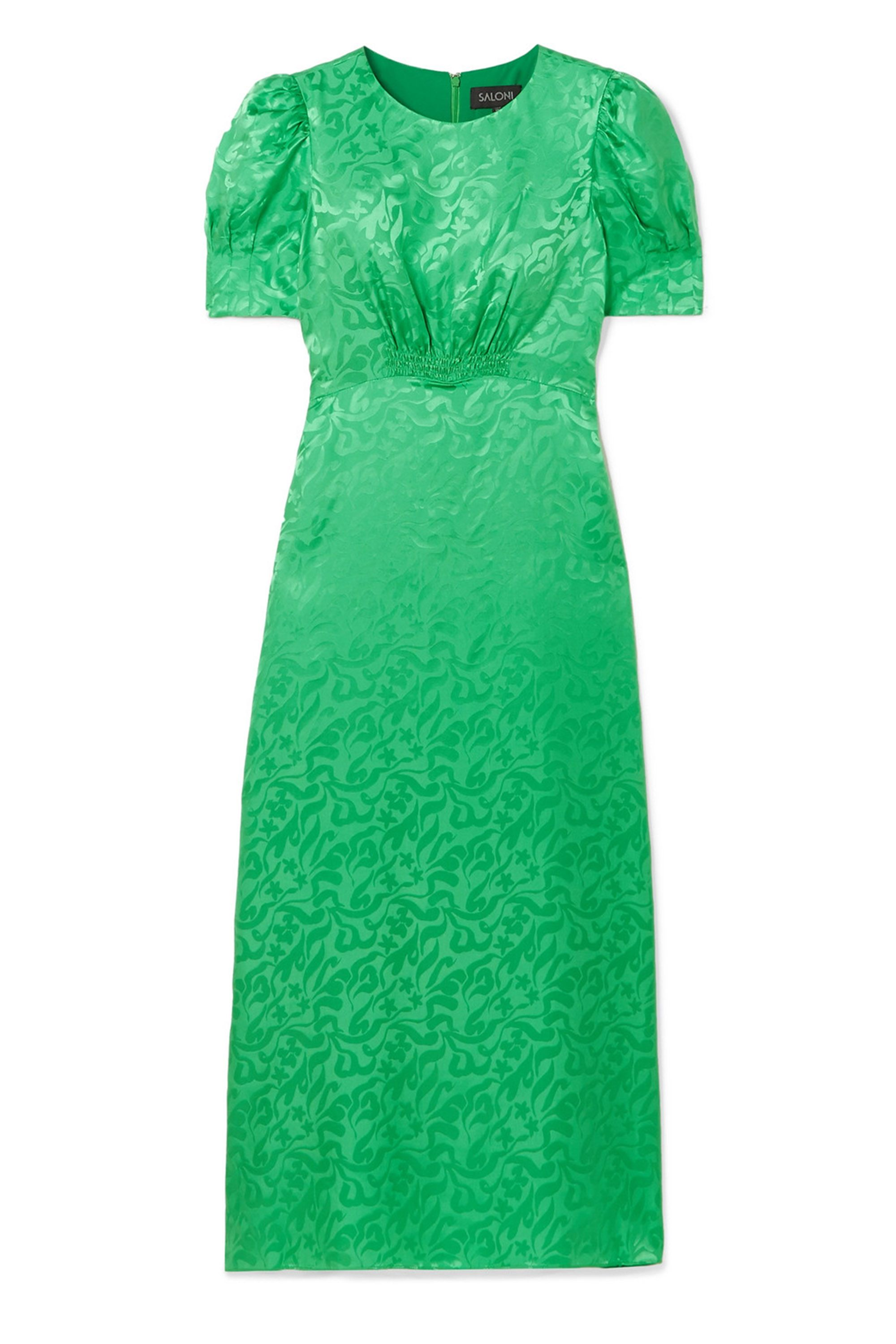Bridesmaid trends, green dress