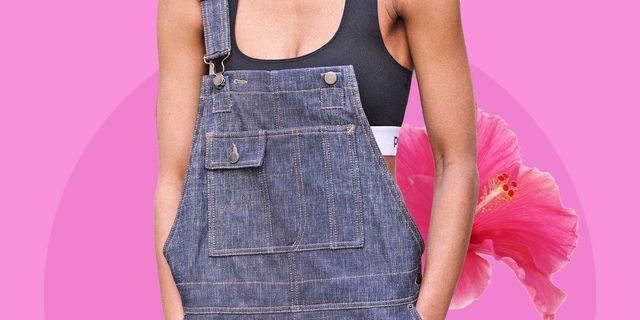 tuta primavera estate 2021, scopri i modelli di salopette donna in tendenza tra la salopette jeans larga, la salopette corta e quelle eleganti