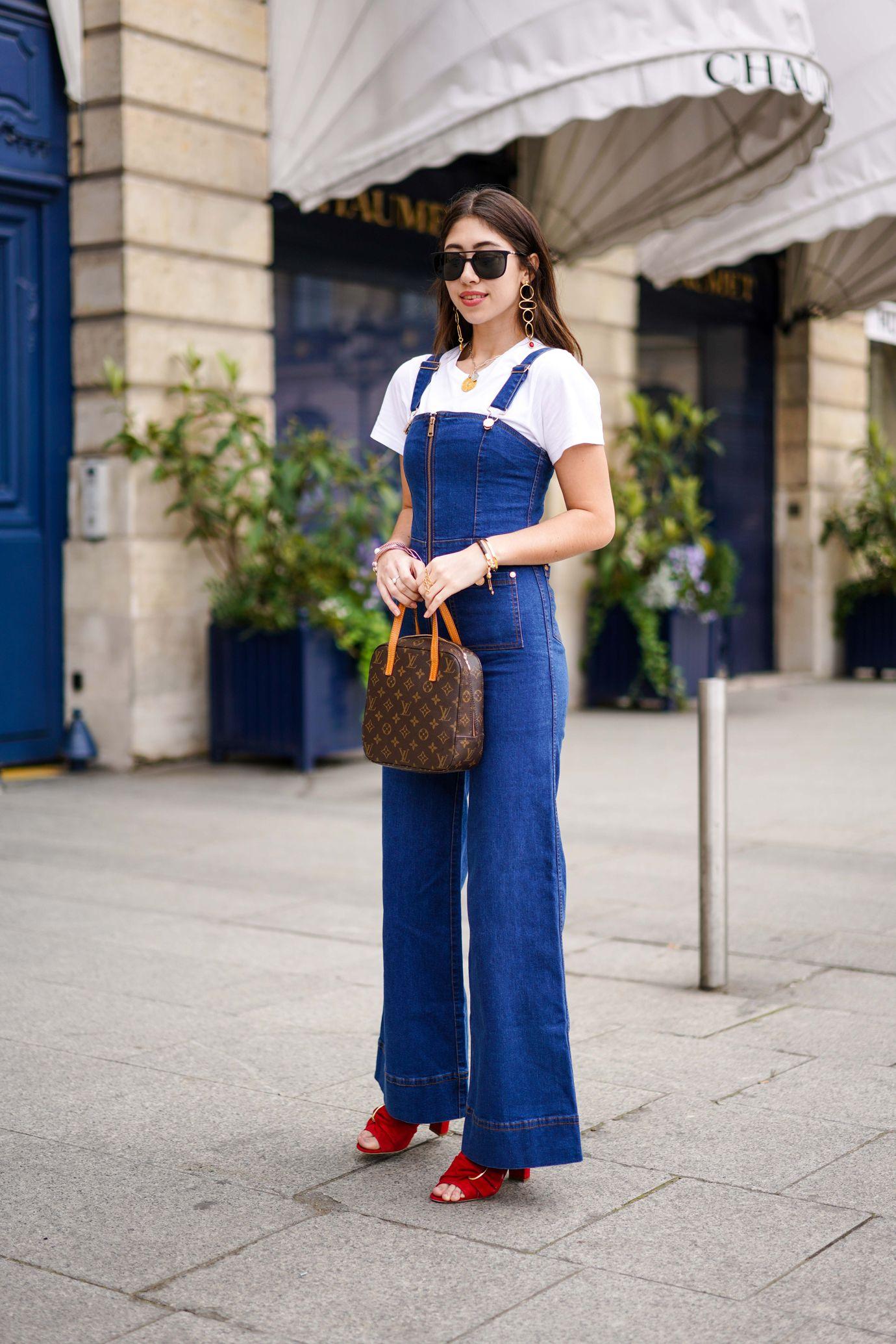 cb5540ffeb nel 12 differenza estivo look jeans che salopette la fanno rUrvY17