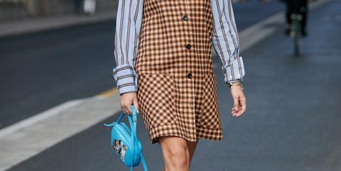 af7f6b863099 Vestito Zara  la salopette a quadri tendenza moda autunno 2018