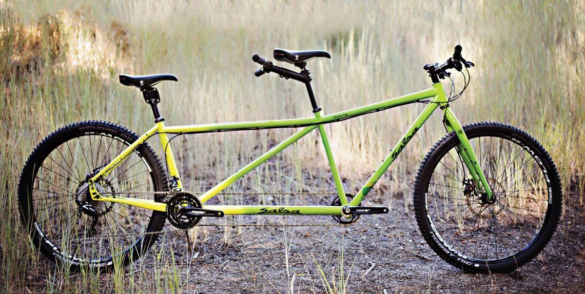 Salsa Powderkeg tandem bicycle