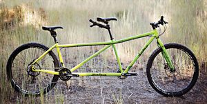 Salsa Powderkeg tandem bicycle