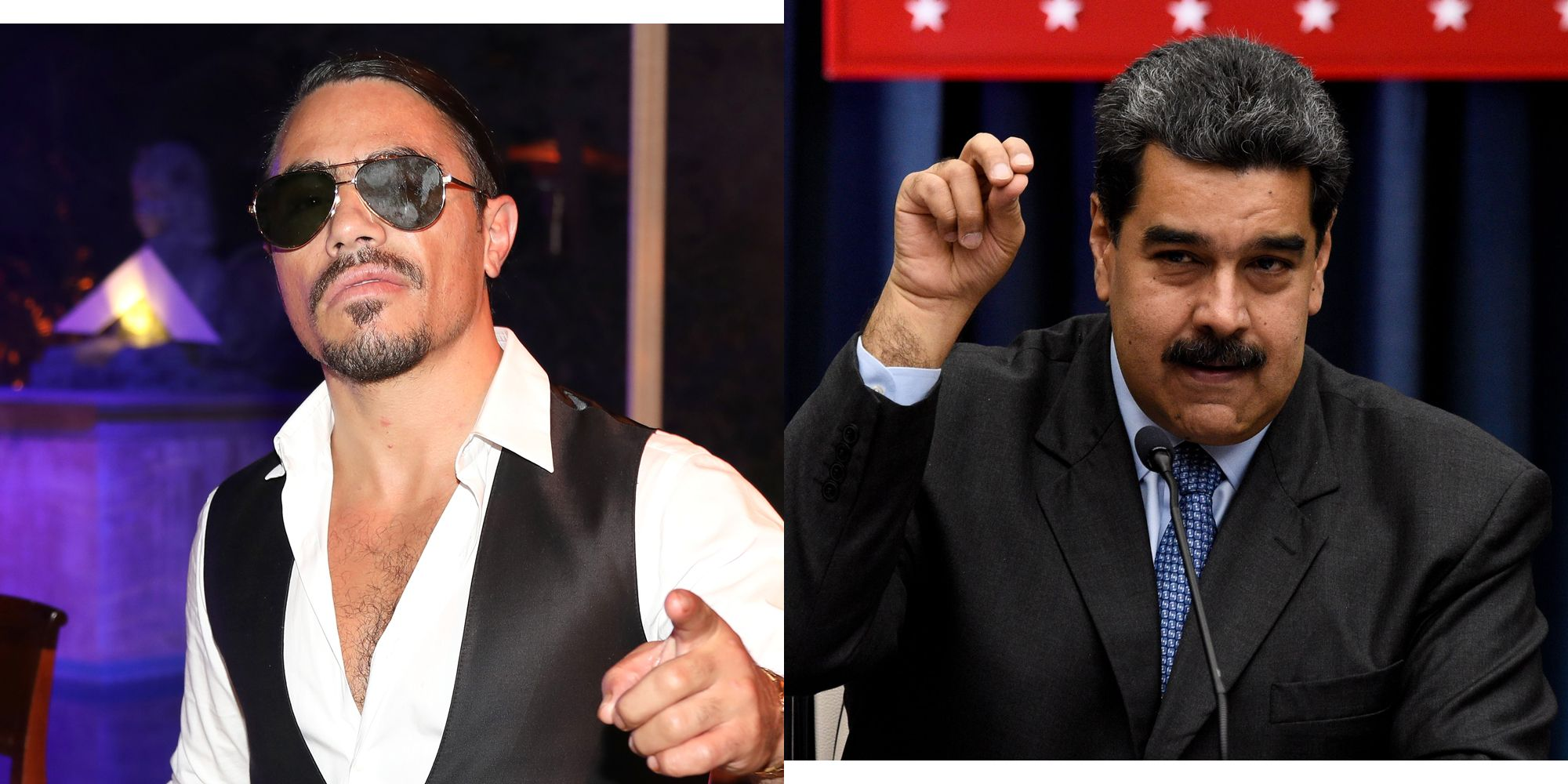 Salt Bae Hosted a Feast for Venezuelan President Nicolás Maduro, and People Are Rightfully Pissed