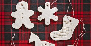 salt dough ornaments christmas crafts