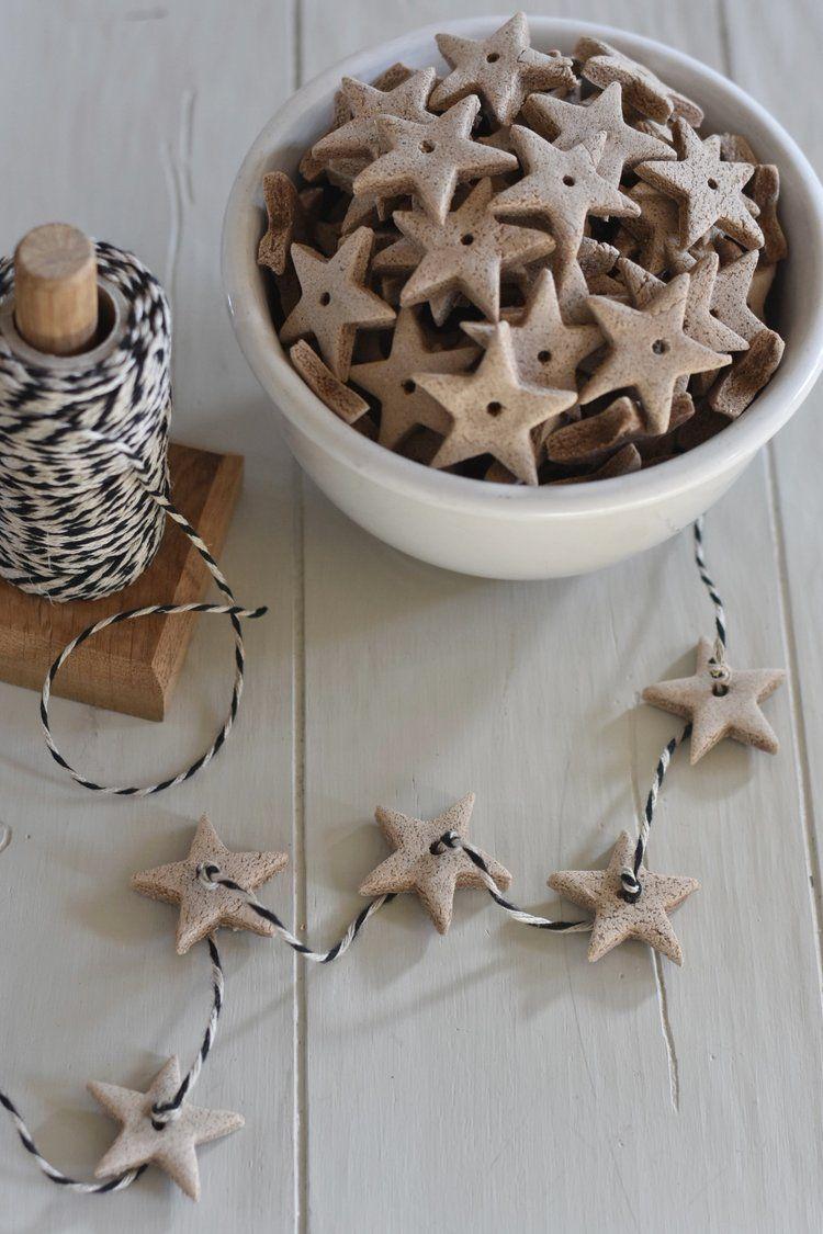 salt dough ornaments scented
