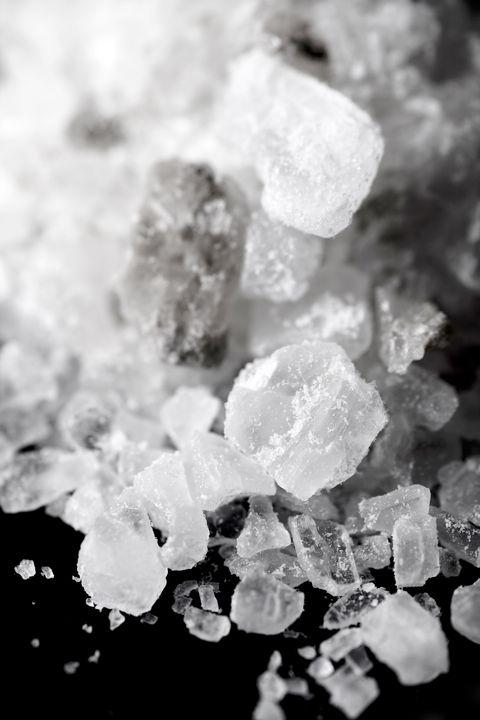 rock salt weed killer