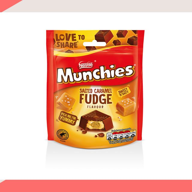 salted caramel fudge munchies