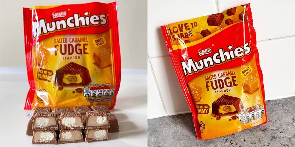 Salted Caramel Fudge Munchies Exist And They look So Good!